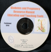 Diabetes and Pregnancy Resource Manual CD
